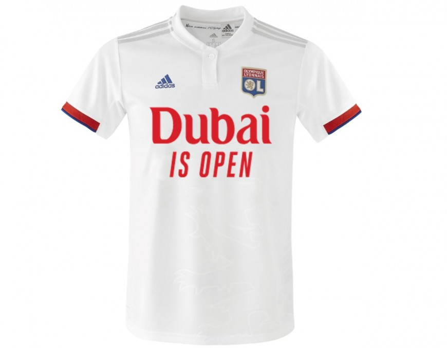 OL: le nouveau sponsor sur le maillot pour le match contre Nice