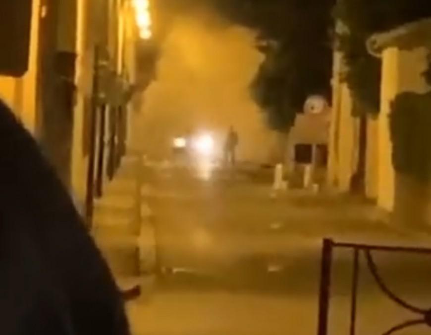 Près de Lyon : l'élu tente de faire cesser un rodéo, il est percuté par une voiture - VIDEO