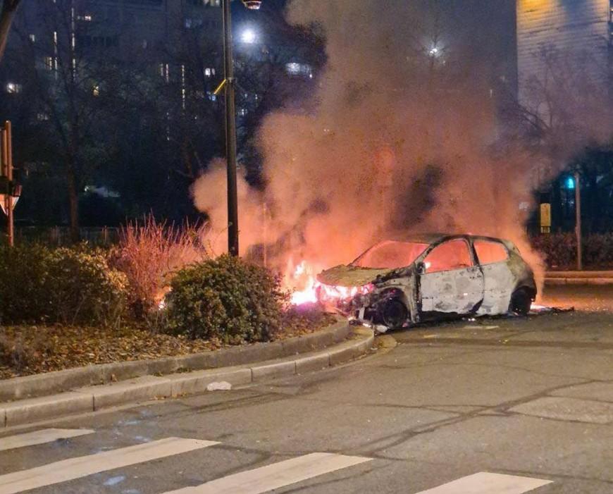 Près de Lyon : de nouveaux affrontements avec la police éclatent au Terraillon