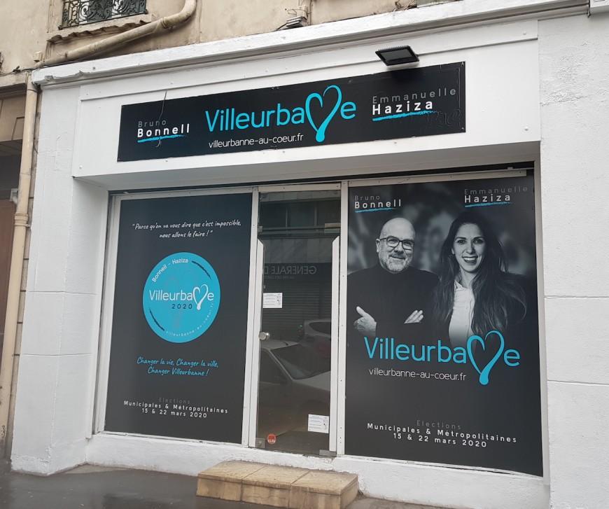 Emmanuelle Haziza et Bruno Bonnell en co-campagne à Villeurbanne