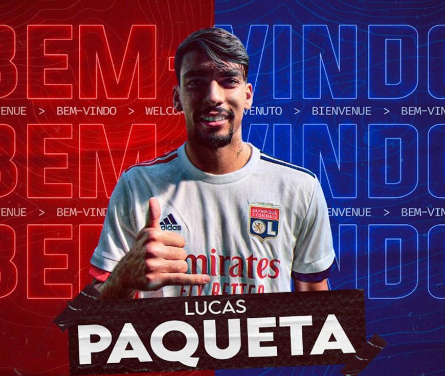 """Lucas Paquetá à l'OL : """"Je suis un joueur qui donne tout, tous les jours à l'entraînement"""""""