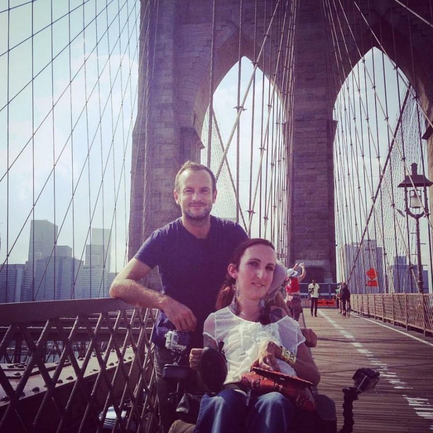Lucie Carrasco et Jérémy Michalak s'envolent pour le Brésil