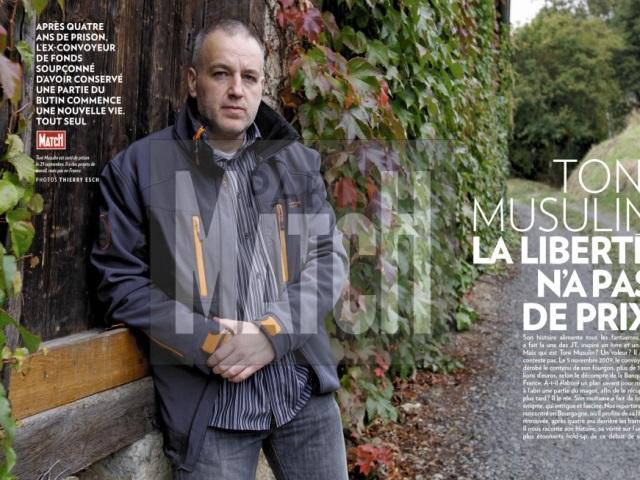 Toni Musulin - DR/Paris Match