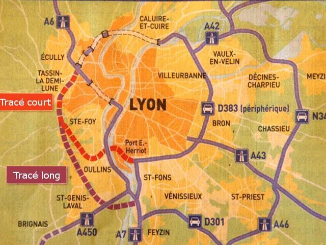 2000 signatures contre le tracé court du TOP de Lyon