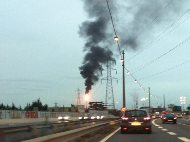 Plate-forme de Feyzin : les torches vont brûler pour redémarrer le site