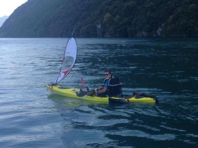 Un Lyonnais va faire la tour de la Corse en kayak pour soutenir la recherche sur la sclérose en plaques