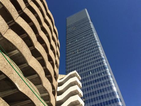 Lyon : un nouveau bloc de verre tombe du 22e étage de la tour Incity
