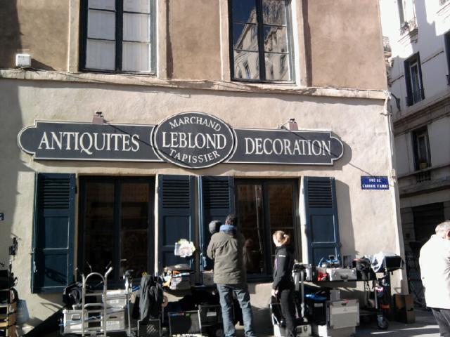 Un téléfilm sur le secrétaire de Jean Moulin est en train de se tourner à Lyon
