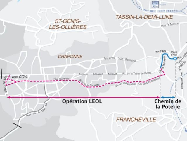 Les lignes express de l'Ouest lyonnais déclarées d'utilité publique
