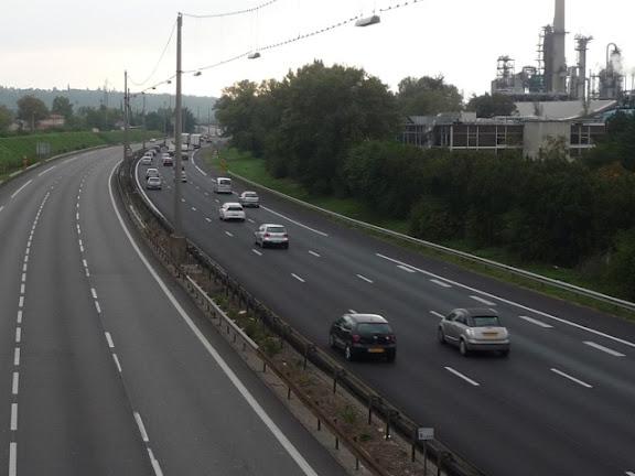 Lyon : journée verte sur les routes malgré les importants retours de dimanche soir