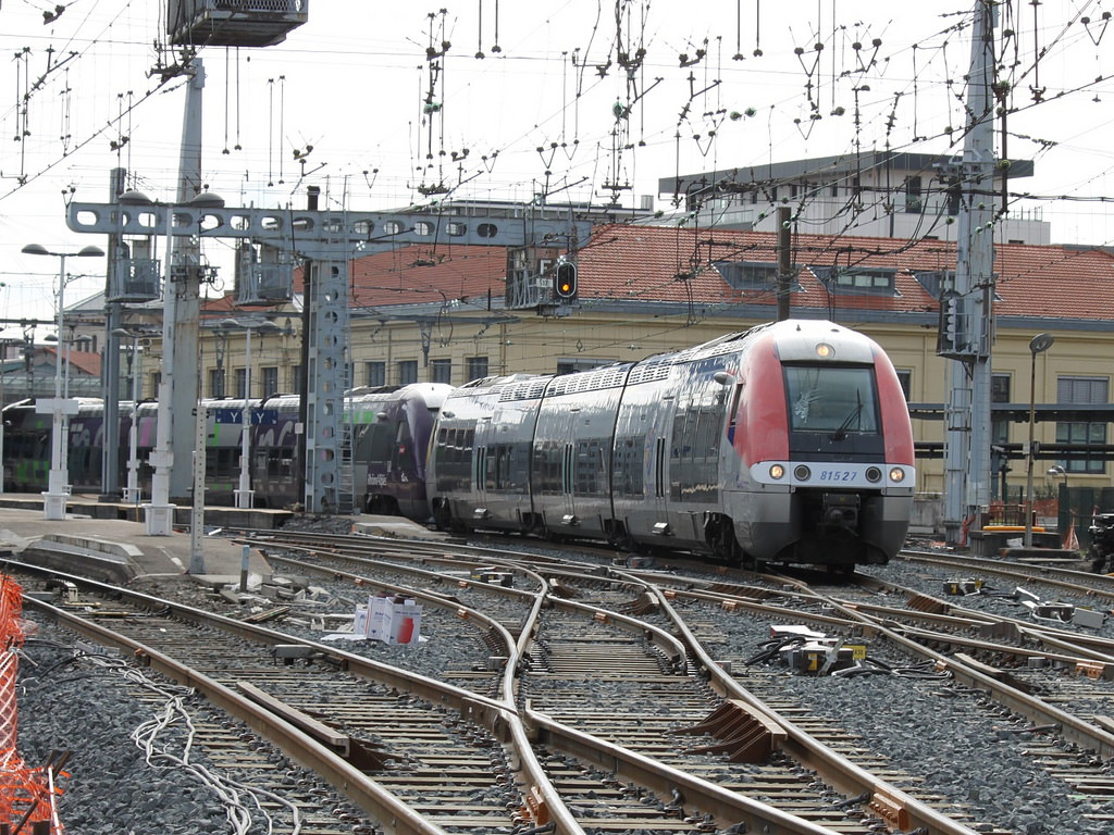 Le trafic SNCF
