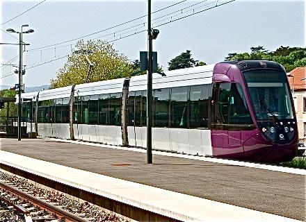 Le tram-train de l'Ouest lyonnais
