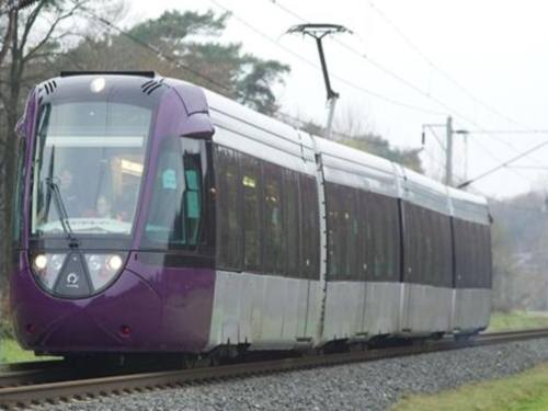 Le tram-train de l'Ouest lyonnais sur les rails ou presque...