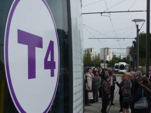 La phase deux du tram T4 est lancée