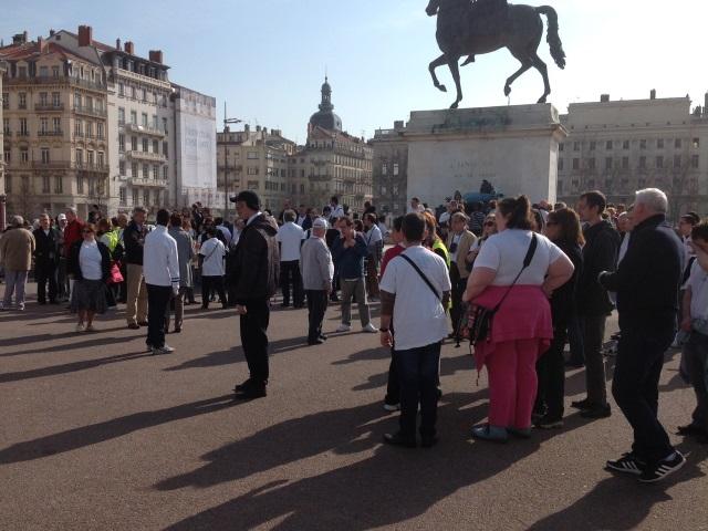 Lyon : 150 personnes défilent à l'occasion des 60 ans de l'ALGED