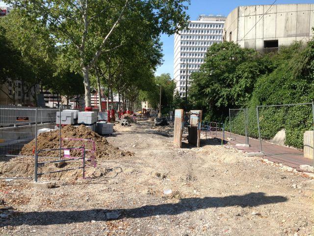 Lyon 6e : la rue Garibaldi coupée toute la semaine pour travaux