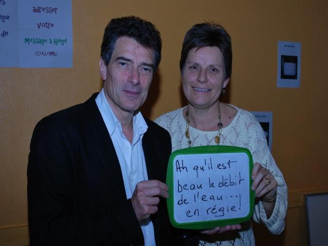 """Gestion de l'eau : les Verts lancent le site """"Un message pour Gégé"""""""