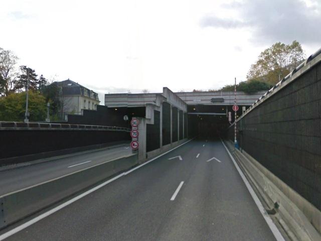 Exercice de sécurité civile : le tunnel de la Duchère fermé
