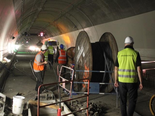 Le tunnel routier qui rouvrira le 2 septembre - LyonMag