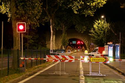 Fermeture du tunnel de la Croix-Rousse : un lundi difficile en vue (cartes)