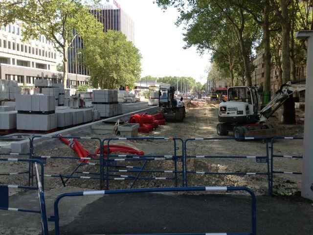 Les travaux de la rue Garibaldi - LyonMag
