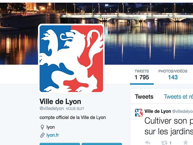 Villes les plus suivies sur Twitter : Lyon totalement larguée