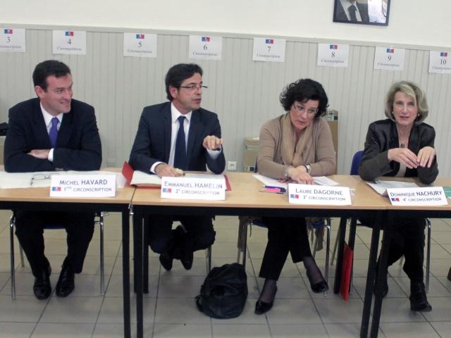 L'UMP en ordre de marche pour les législatives à Lyon