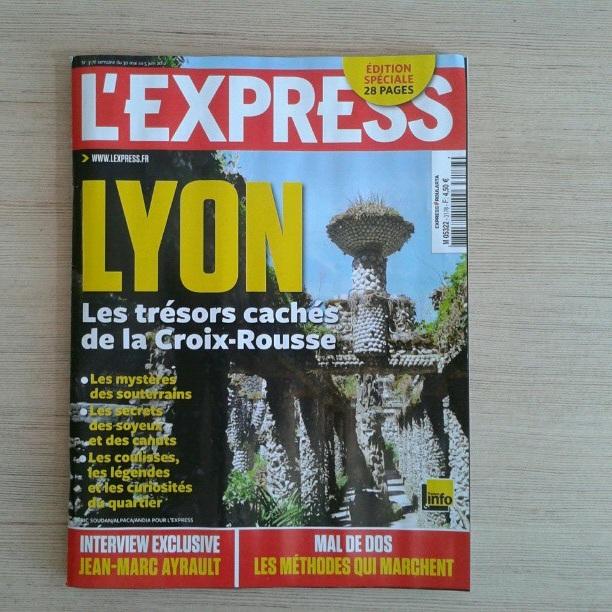 La Croix-Rousse (re)visitée dans l'Express