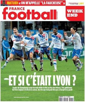 France Football voit l'OL champion de France