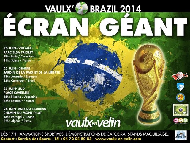 Vaulx-en-Velin : la retransmission du prochain match de l'Algérie est annulée