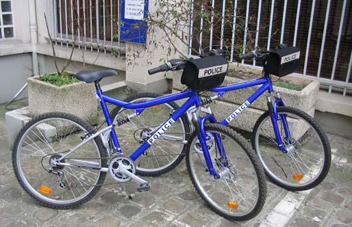 Les brigades de police à vélo seront plus nombreuses à Lyon
