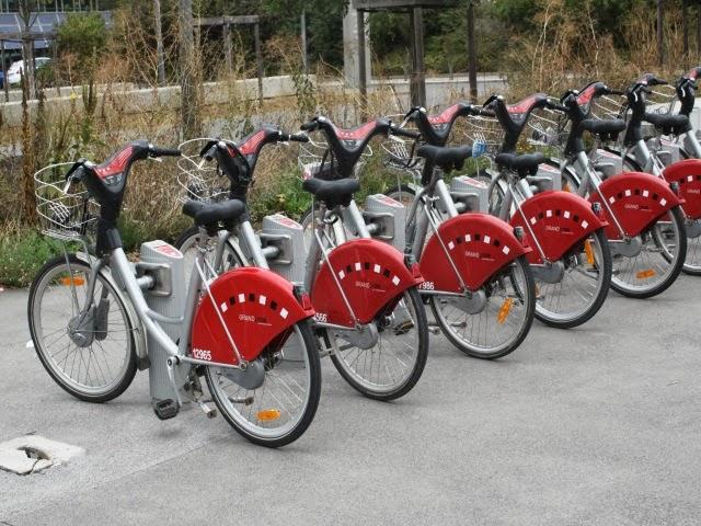 Une nouvelle station Vélo'v à Confluence