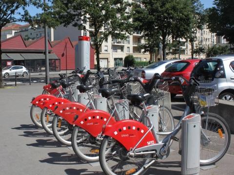 43 190 Vélo'v loués à Lyon lors de la grève des TCL