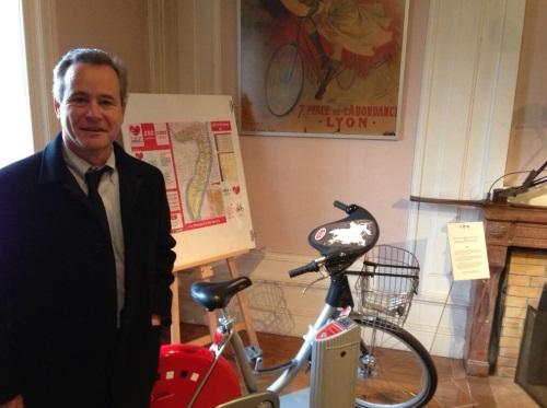 Le Vélo'v fait son entrée au musée