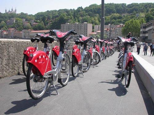 Les Vélo'v plébiscités à l'échelle européenne