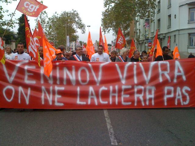 Veninov : l'occupation du site de Vénissieux se poursuit
