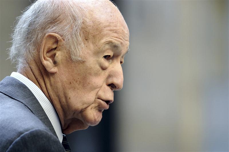 Valéry Giscard d'Estaing donnera une conférence la semaine prochaine dans le Rhône