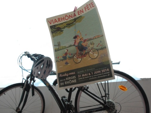Vélo + Rhône : Viarhôna en fête à la fin du mois