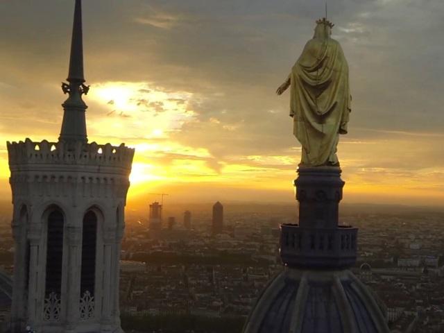 Plus de 100 000 vues pour la vidéo de Lyon filmée par un drone