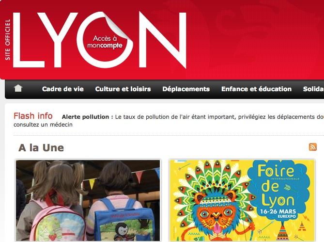 La Ville de Lyon bientôt primée aux Trophées du numérique ?