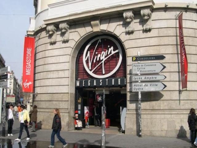 Fin imminente pour les magasins Virgin de France