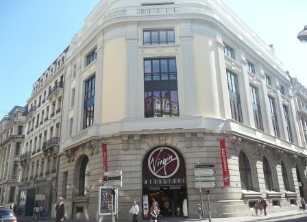La fin de Virgin Megastore à Lyon ?