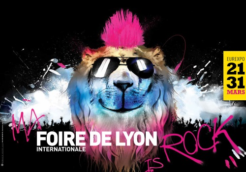En 2014, la Foire Internationale de Lyon sera rock'n'roll