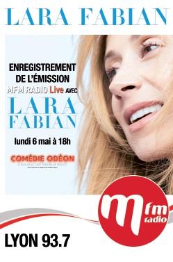 Lara Fabian en concert privé au Comédie Odéon