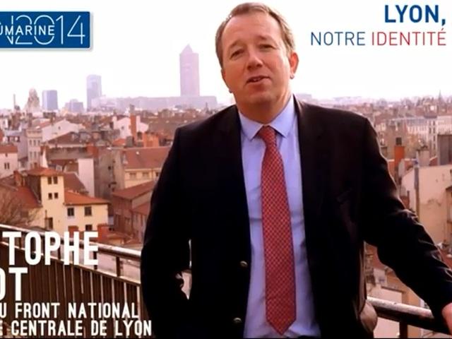 Vidéo : au tour de Christophe Boudot de présenter ses voeux aux Lyonnais