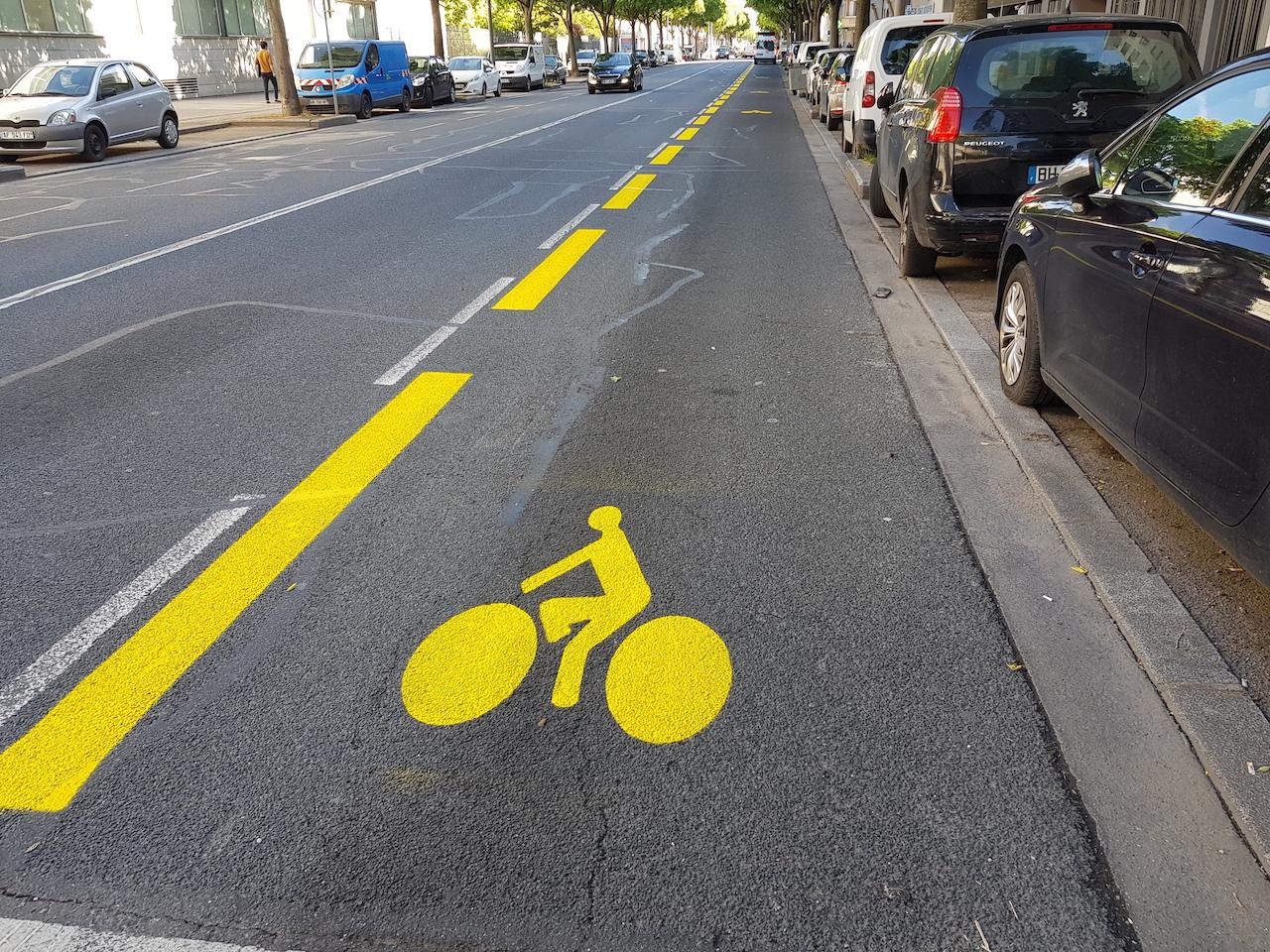 Deconfinement 77 Kilometres De Nouvelles Voies Cyclables Dans La Metropole De Lyon D Ici Septembre