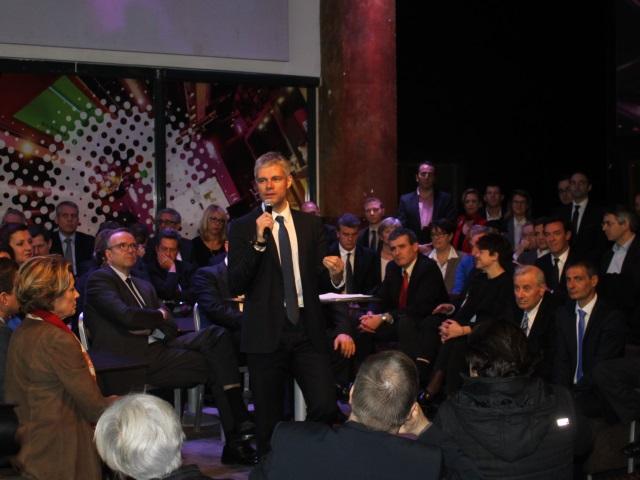 Régionales 2015 : Laurent Wauquiez officialise sa candidature à Lyon