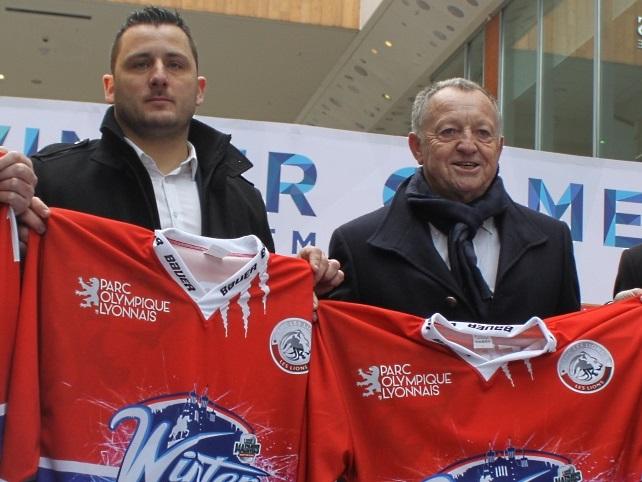 L'Olympique Lyonnais et le Hockey Club de Lyon établissent un partenariat de 3 ans