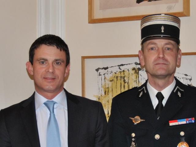 Didier Wioland nouveau patron du groupement de gendarmerie du Rhône