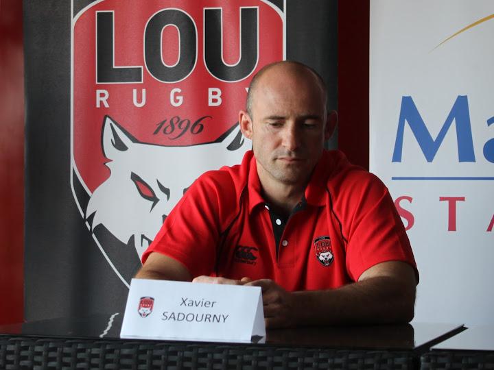 """Xavier Sadourny/LOU Rugby : """"On m'a confié une mission, c'est à moi de la remplir"""""""
